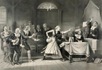Las brujas de Salem son hechos impactantes