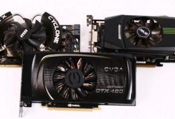 Nvidia GeForce GTX 460: dane techniczne i opinie