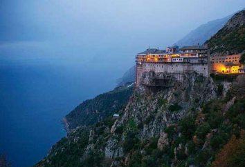 Berg Athos – Kloster. Klöster des Berges Athos