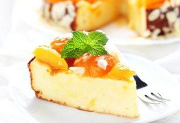 Cuisiner à la maison. Casserole dans le fromage cottage multivarka avec Semoule