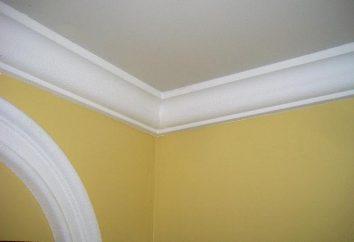 modanature del soffitto per controsoffitti: tipi
