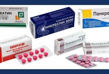 """Preparat enzymatyczny """"pankreatyny"""". analogi"""