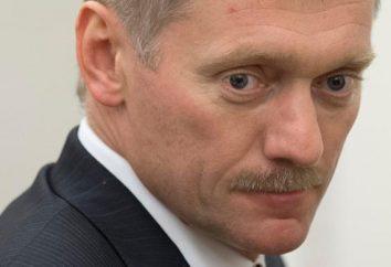Dmitry Peskov. Celebrity Biografia