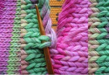 Drutach ścieg na drutach: rodzaje i prawidłowe wykonanie