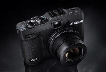 Fotocamera Canon G16: una panoramica, le caratteristiche e le recensioni dei proprietari. Fotocamera Canon PowerShot G16: descrizione del modello