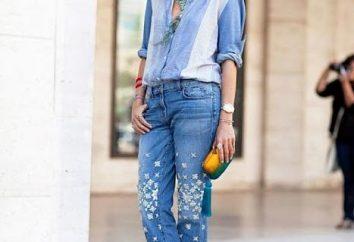 Jeansy z dżetów – sześć opcji dzienne i wieczorne letnim zestawie