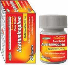 """""""Acetaminophen"""": istruzioni per l'uso. Descrizione della preparazione, controparti reali"""
