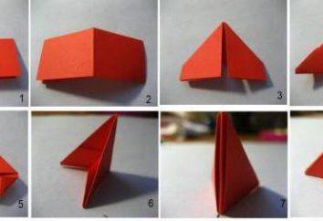 Master class, come fare un origami modulare cesto