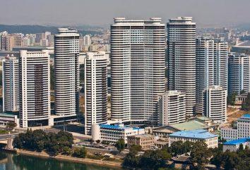 La capitale de la Corée du Nord: Pyongyang
