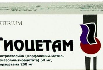 """""""Tiotsetam"""": istruzioni per l'uso, e il prezzo. Pillole e iniezioni """"Tiotsetam"""""""