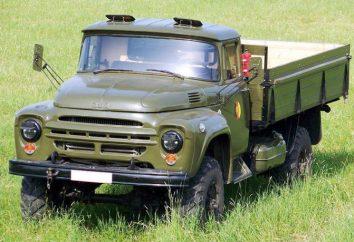 ZIL 130 camions à benne basculante: les voitures avec une riche histoire