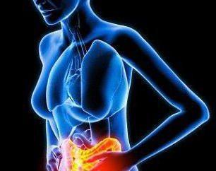 examen de rayos X Cuenco Klojber de la cavidad abdominal