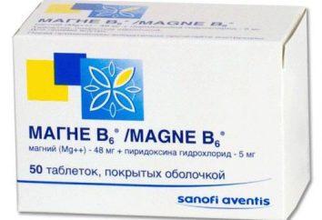 """El medicamento """"Magne B6"""". Analógico, asequible"""