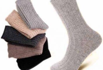chaussettes thermiques pour les hommes: les avantages, les caractéristiques