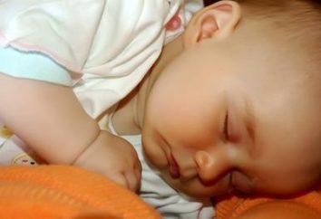 Quanto deve uma criança dormir em 2 meses