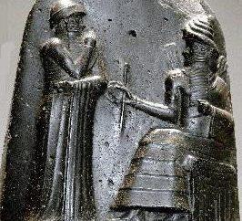 Código Hammurabi da Lei e suas características. Propriedade e passivos Sudebnik rei Hammurabi