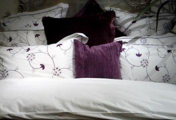 Dimensions de linge de lit. Acheter des objets appropriés