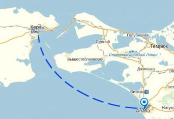 Anapa – Kertch: comment passer de la partie continentale à l'île?