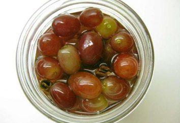 Winogrona marynowane: Przepisy