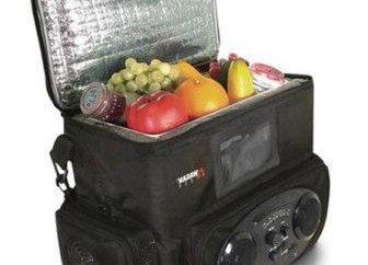 Bag-refrigerator com energia do isqueiro – um companheiro indispensável na viagem