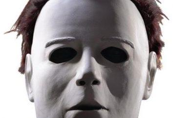 A máscara de Michael Myers. Como fazer um acessório com as mãos?