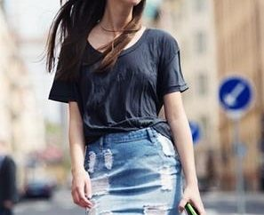 Da cosa indossare gonna di jeans: Consigli di moda