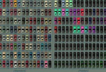 Automobili ID colori in SAMP. Concetti di base e condizioni di utilizzo