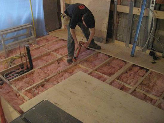 Fußboden Schalldämmung ~ Schallisolierung boden schalldämmung einen holzfußboden materialien