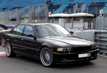 BMW 750, cechy i opinie