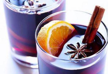 """Glühwein – Cocktail """"glühender Wein"""""""