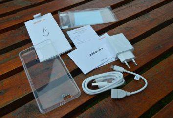 Teléfono inteligente Oukitel K6000 Pro: opiniones, especificaciones