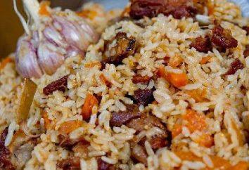 Cuisine délicieuse pilaf grumeleuse dans multivarka « Philips »