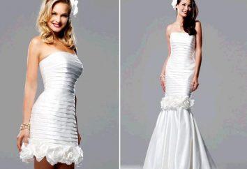 Novedad original – vestido-transformador de la boda