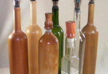 Bouchons de bouteille: types, fabrication et application. Bouteilles avec bouchon de culasse