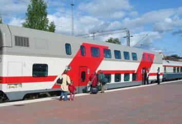 Firm Doppeldecker-Zug von Moskau nach Kazan: Fotos, Beschreibungen, Bewertungen