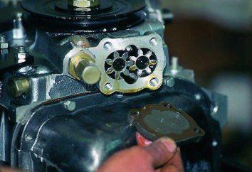 Zawór redukcyjny pompy olejowej: zasada działania. Regulacja zaworu redukcyjnego pompy oleju