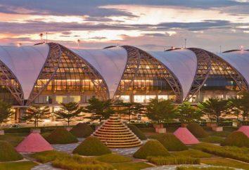 Suvarnabhumi (aeropuerto): mapa, ubicación, cómo llegar