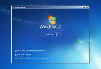 Instalacja Windows 7 z dysku twardego. Krok po kroku instrukcje i zalecenia