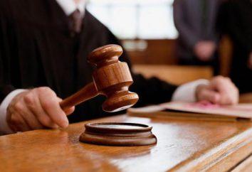 Una decisione tribunale di diritto processuale