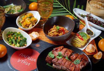 """Restauracja Mandarin. Noodles and Ducks """"(Moskwa): podstawowe informacje, menu i recenzje"""