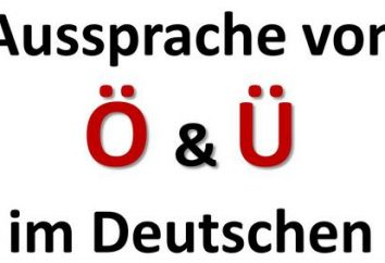 Regole di lettura nella pronuncia tedesca e specificità