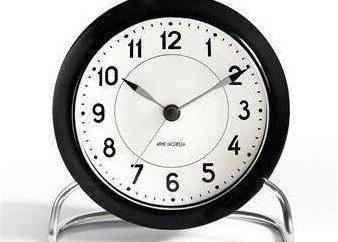Comment choisir une horloge de bureau? Comment mettre en place une horloge de table? Le mécanisme des horloges