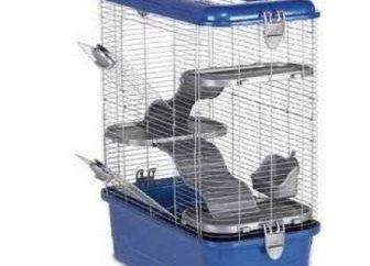 Ideal Käfig für Ratten. Was ist das?