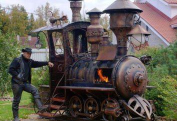 Grill lokomotywa z rąk: materiałów, zgodnie z instrukcją producenta