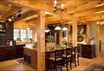 Dom z drewna: recenzje kształtowych i zasad budowy
