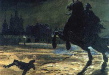 """A imagem de Petersburgo nas obras de Gogol e Pushkin. Petersburgo no """"Nevsky Prospect"""" Gogol"""