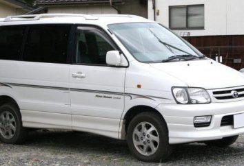 Toyota Noach: descrição dos modelos, suas características e comentários