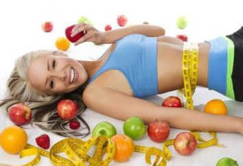 bikini Fitness: cibo e all'esercizio fisico per dietisti
