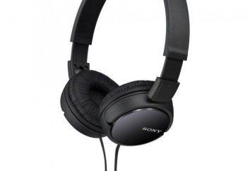 Przegląd słuchawki Sony MDR ZX110