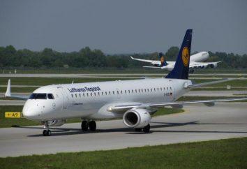 Breve descripción de Embraer 195 aviones